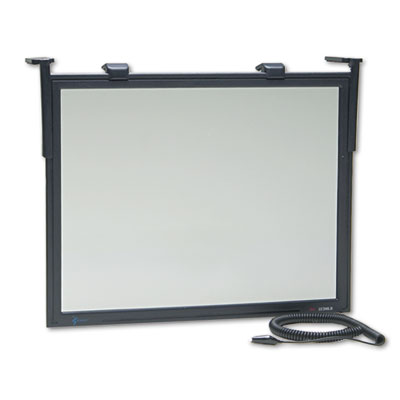 """Executive Flat Frame Monitor Filter, 14\""""-16\"""" CRT/15\"""" LCD"""