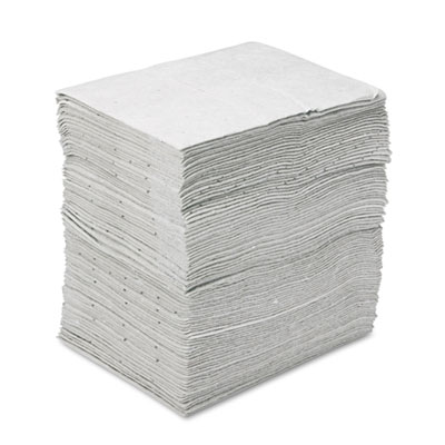 Sorbent Pads, High-Capacity, Maintenance, 37.5gal Capacity, 100/