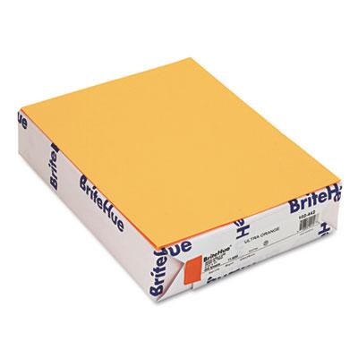 BriteHue Multipurpose Colored Paper, 24lb, 8 1/2 x 11, Ultra Ora