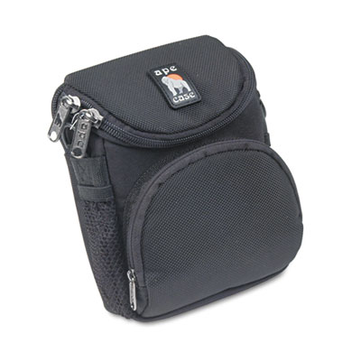Camcorder/Digital Camera Case, Ballistic Nylon, 5 x 3-1/2 x 6-5/
