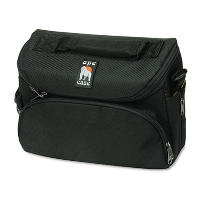 Camcorder/Digital Camera Case, Ballistic Nylon, 10-5/8 x 4-7/8 x