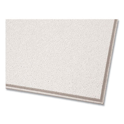 """Dune Second Look Ceiling Tiles Directional Angled Tegular 0.94"""" 24"""" x 48"""" x 0.75"""" White 10/Carton 2712A"""