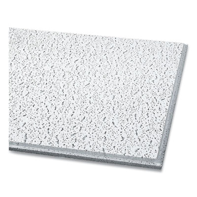 Armstorng Fissured Ceiling Tiles Square Lay-In White 16/Carton 756A