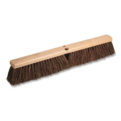 """Palmyra Street Broom Head 18"""" Brush 3.25"""" Bristles Brown P10005"""