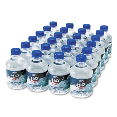 Bottled Spring Water, 8oz, 24/Carton