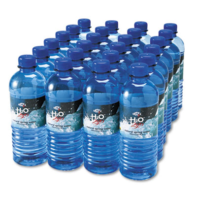 Bottled Spring Water, 1/2L, 24/Carton
