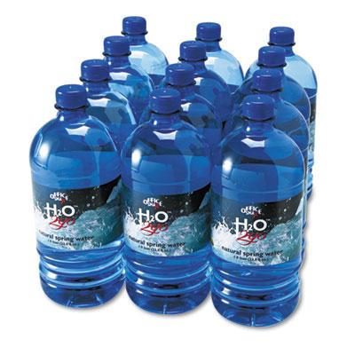 Bottled Spring Water, 1000mL, 12/Carton