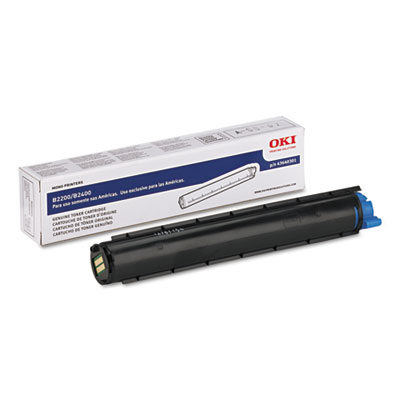 43640301 Toner, 2000 Page-Yield, Black