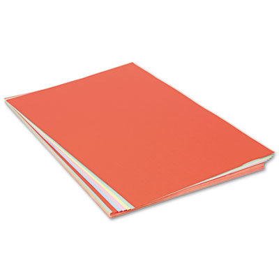 Assorted Colors Tagboard, 36 x 24, Blue/Canary/Green/Orange/Pink