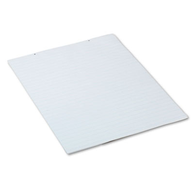 Chart Tablets w/Glued Top, Ruled, 24 x 32, White, 70 Sheets