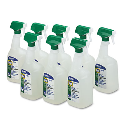 Disinfectant Bath Cleaner, 32oz Trigger Bottle, 8/Carton