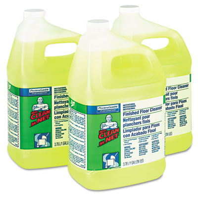 Finished Floor Cleaner, 1gal Bottle, 3/Carton