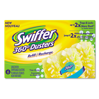 360 Duster Refill, Fiber, Yellow