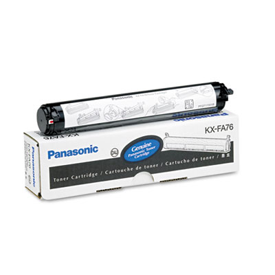 KXFA76 Toner, 2000 Page-Yield, Black