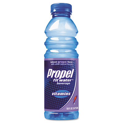 Flavored Water, Grape, Plastic Bottle, 500mL, 24/Carton
