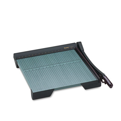 """The Original Green Paper Trimmer, 20 Sheets, Wood Base, 19 1/8"""""""
