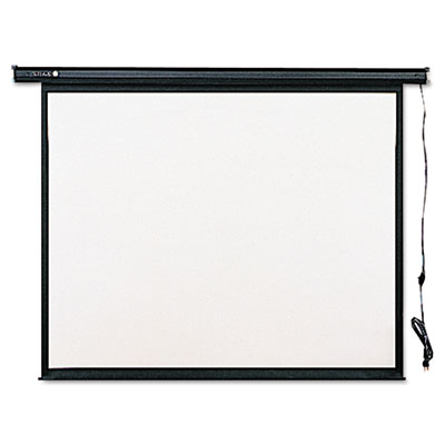 Electric Wall or Ceiling Mount Projection Screen, 70 x 70, Three