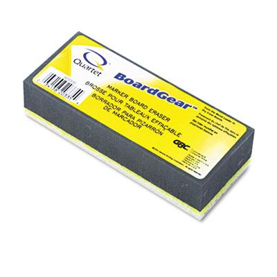 BoardGear Dry Erase Board Eraser, Foam, 5w x 3d x 1h