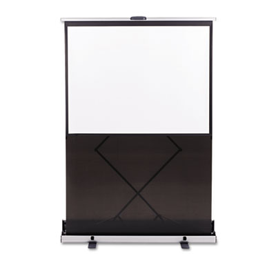 "Euro Portable Cinema Screen w/Black Carrying Case, 60"" Diagonal"