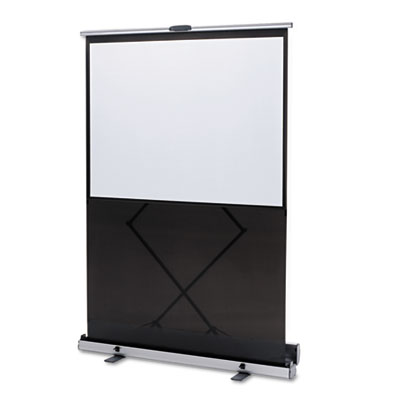 "Euro Portable Cinema Screen w/Black Carrying Case, 80"" Diagonal"