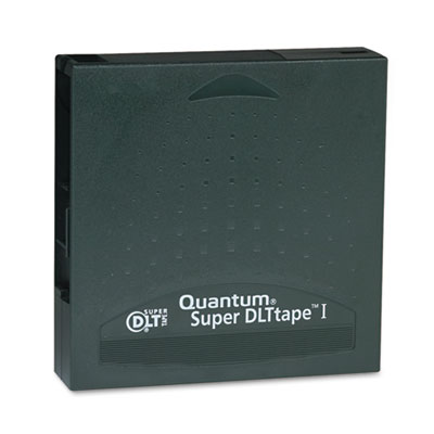 "1/2"" Super DLT Cartridge, 1828ft, 110GB Native/220GB Comp Capaci"