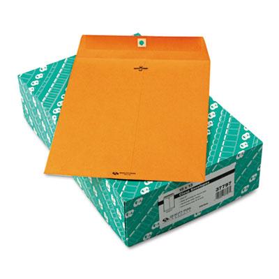 Clasp Envelope, 10 x 13, 32lb, Light Brown, 100/Box