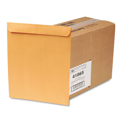 Catalog Envelope, 11 1/2 x 14 1/2, Brown Kraft, 250/Box