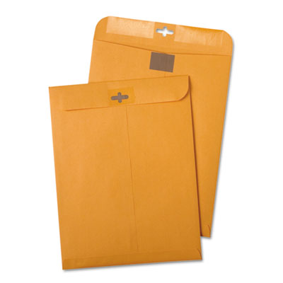 Postage Saving ClearClasp Kraft Envelopes, 6 x 9, Brown Kraft, 1