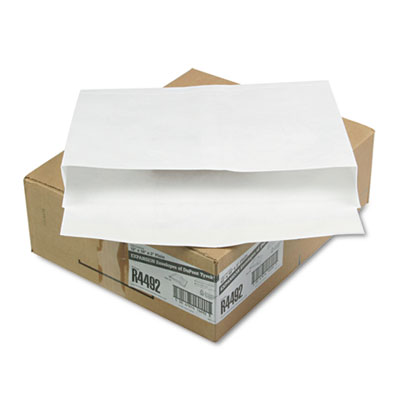 Tyvek Booklet Expansion Mailer, 12 x 16 x 2, White, 18lb, 100/Ca