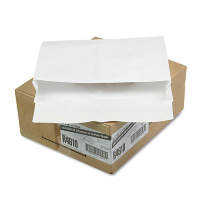 Tyvek Booklet Expansion Mailer, 10 x 13 x 2, White, 100/Carton