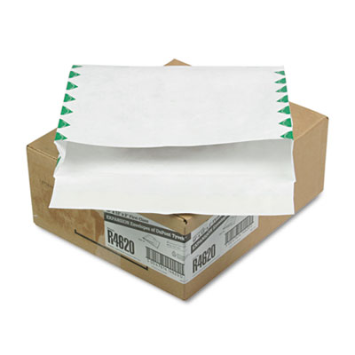 Tyvek Booklet Expansion Mailer, First Class, 10 x 13 x 2, White,