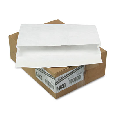 Tyvek Booklet Expansion Mailer, 10 x 15 x 2, White, 100/Carton
