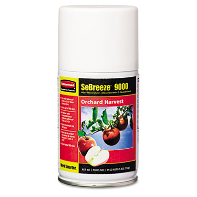 Fragrance Aerosolister, Citrus Breeze, 5.3oz Aerosol, 12/Carton