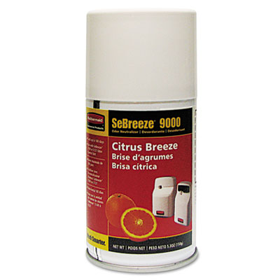 Fragrance Aerosolister, Citrus Breeze, 5.3oz, Aerosol