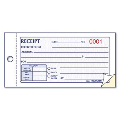 Doc.#650650: Free Receipt Book – Doc595281 Receipt Book Template ...