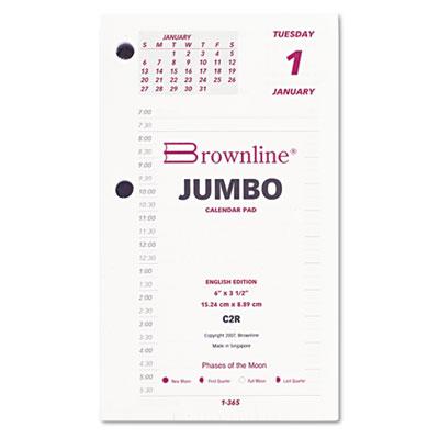 Calendar Refill, 6w x 3-1/2h, 2015