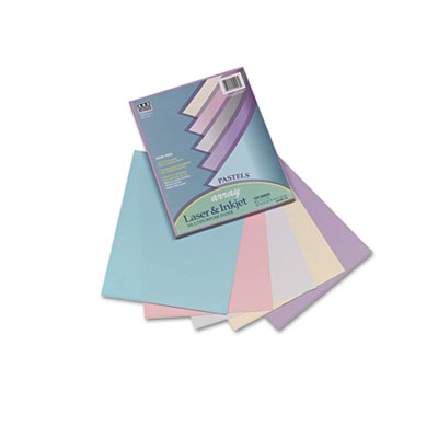 Array Colored Bond Paper, 20lb, 8-1/2 x 11, Assorted, 100 Sheets