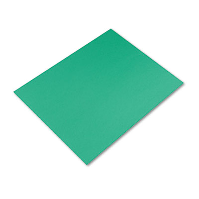 Colored Four-Ply Poster Board, 28 x 22, Kelly Green, 25/Carton