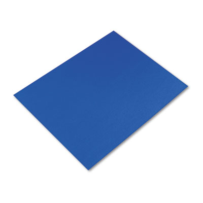Colored Four-Ply Poster Board, 28 x 22, Dark Blue, 25/Carton