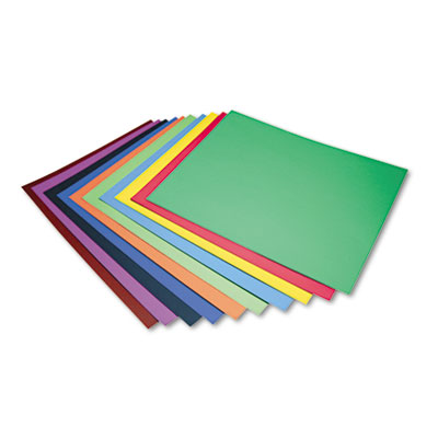 Peacock Four-Ply Railroad Board, 22 x 28, Assorted, 100/Carton<br />91-PAC-5487
