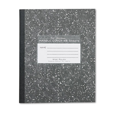 Marble Cover Composition Book, Legal Rule, 8-1/2 x 7, 48 Pages