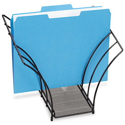 Butterfly File Sorter, Five Sections, Mesh, 12 1/4 x 7 3/4 x 10