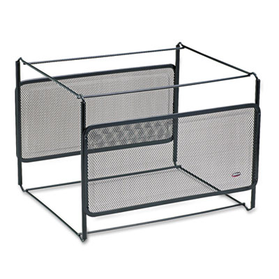 Letter Size Mesh File Frame Holder, Wire, 12 3/8 x 11 3/8 x 9 5/