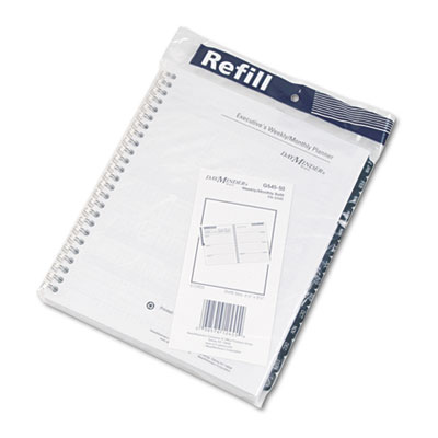"Recycled Weekly Refill for G545, Desk, 6 7/8"" x 8 3/4"", 2015"