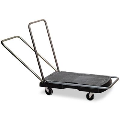 "Utility-Duty Home/Office Cart, 250 lb Capacity, 20 1/2"" x 32 1/2"