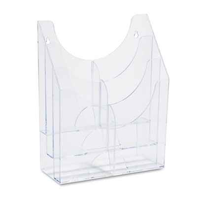 RUBBERMAID - Optimizers Multipurpose Six-Pocket Organizer, 9-1/2w x 4d x 12h, Clear Sold as 1 EA at Sears.com
