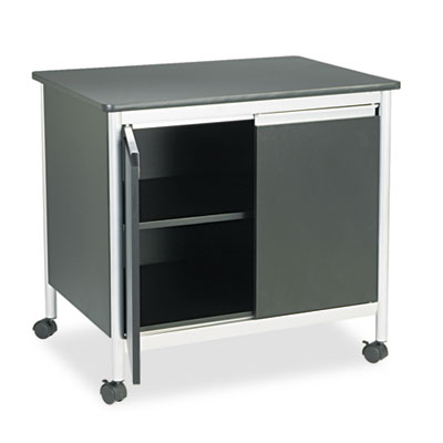 Deluxe Steel Machine Stand, One-Shelf, 32w x 24-1/2d x 30-1/4h,