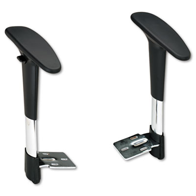 Adjustable T-Pad Arms for Metro Series Extended-Height Chairs, B