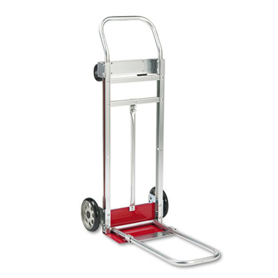 3-Way Convertible Hand Truck Cart, 500-600lb Cap, 20 1/4 x 48, A