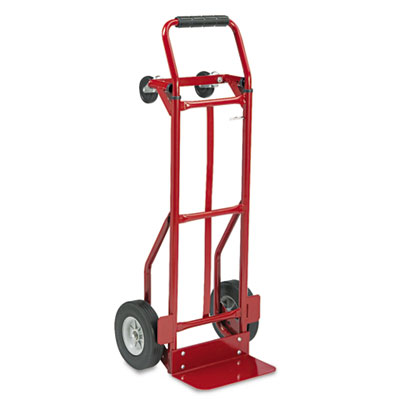 Two-Way Convertible Hand Truck, 500-600lb Capacity, 18w x 51h, R
